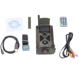 câmera dos animais selvagens da visão noturna 3G GPRS de 12MP 1080P IR