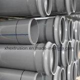 Assurance qualité de machine en plastique d'extrudeuse pour des pipes de PVC