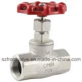 Válvula de globo de extremo de brida de acero fundido