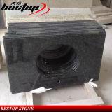 Tapas calientes de la vanidad del granito del cuarto de baño de Ubatuba de la venta