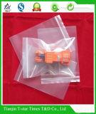 Saco Ziplock plástico durável desobstruído do LDPE