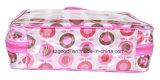 Borsa sveglia bella dell'estetica del cubo dell'imballaggio di corsa del PVC del PUNTINO di Polka