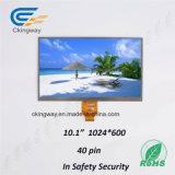 Étalage transparent de TFT LCD d'étalage coloré de large écran d'affichage à cristaux liquides de résolutions de Ckingway 10.1