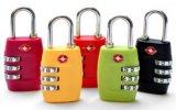 3 Vorwahlknopf-rückstellbare Kombinations-Spielraum-Verriegelungs-/Gepäck-Sicherheits-Verriegelung Tsa