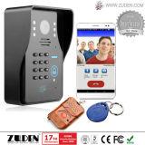 Телефон двери WiFi видео- для франтовского звонока домашнее видео