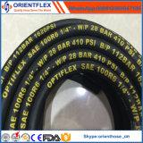 Boyau hydraulique en caoutchouc de constructeur de la Chine (SAE100 R6)
