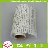 rodillo sin blanquear del papel de pergamino de los 38cm de los x 5m