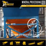 Addensatore d'asciugamento di gravità di estrazione mineraria del tubo del minerale metallifero di Desliming dell'oro propenso di processo