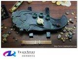 Oeuvre d'art de marbre de Tableau de plateau de jeu de thé de chinois traditionnel à vendre