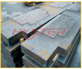 Carbure de chrome de plaque d'usure de centre de détection et de contrôle recouvert surfaçant dur la plaque de Cladded