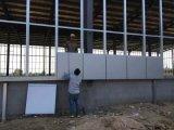 Projeto claro pré-fabricado do edifício do armazém da oficina da construção de aço