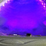 Eine 6 Meter-beleuchtet im Freienschwimmen BADEKURORT mit LED Massage-Strahlen