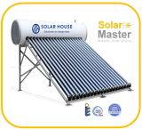Système solaire compact de réchauffeur d'eau chaude de tubes en verre de pression