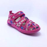 2016 Qualitäts-Form-Kind-Sommer-Schuhe mit PU-Gummi Llight