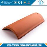 Azulejo de azotea rojo de la arcilla del azulejo de azotea de la arcilla de azotea de la terracota de cerámica del azulejo
