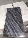 Tuiles en bois antiques de marbre de noir d'arbre (marbre noir du Kenya)