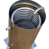 Tube de bobine d'acier inoxydable pour l'échange thermique