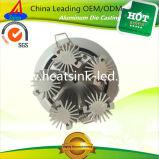 Алюминиевый радиатор теплоотвода СИД с гловальным рекрутом соучастника