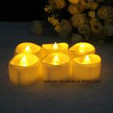 Wedding свет чая романтичной грелки свечки чывства СИД белый