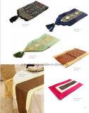 Hand-Made 가죽 끈 테이블 주자 장식적인 테이블 깃발