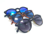 Gafas de sol plásticas de la manera del nuevo diseñador con insignia de encargo