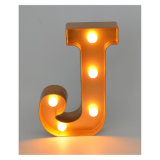 Christmas Decoration를 위한 플라스틱 LED Letter