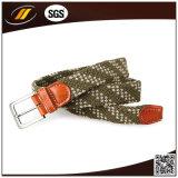 合金Pinのバックルが付いている高品質の伸縮性がある編まれたベルト