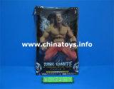 最も新しく柔らかいプラスチックはもてあそぶ金ベルト(845206)が付いているレスリング選手の人形を