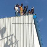 Gruppo di lavoro di montaggio chiaro prefabbricato della struttura d'acciaio per Agentina