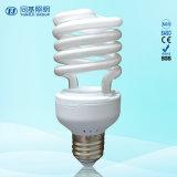 Meia espiral 75W CFL Tri-Color da lâmpada Energy-Saving