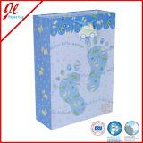 Le modèle de Papier d'emballage Eco de fleur met en sac le sac de papier de sac de cadeau de sac de papier de tissu de sac environnemental de luxe de sac à provisions