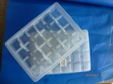 Contenitore di alimento di plastica di microonda del nero di uso di memoria di Sood con il divisore