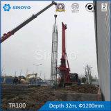 Tringle rotative TR100 pour l'ingénierie des fondations