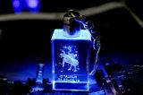 Гравировальный станок лазера кристалла 2D3d для кристаллический массового производства