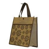 Les sacs à provisions réutilisables, avec conçoivent en fonction du client et impression (14070104)