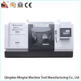 Máquina horizontal del torno calidad barata del precio de la mejor para el eje de torneado del astillero (CK61100)