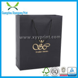 Custom Design Handbag Shape Paper Gift Package Bag com impressão de logotipo