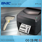 (BTP-L42) código de barras del diseño de la transferencia del USB de 104m m pequeño de la impresora termal serie-paralela de la escritura de la etiqueta