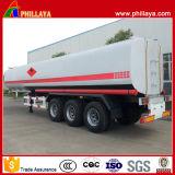 半42000litersディーゼル油の鋼鉄タンク車のトレーラーの燃料の金属タンク