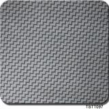 Tsautop Hotting продавая печать Tstt100 Aqua пленок печатание перехода воды пленки волокна углерода ширины 0.5m гидрографическую