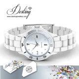 Schicksal-Schmucksache-Kristall von der Swarovski Freuden-Leder-Uhr