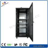 Вертикальный стоящий шкаф сети с стеклянной дверью