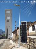 Shenzhen 6W-100W integró todos en una luz de calle solar del LED