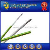 câblage électrique de chauffage tressé de fibre de verre en caoutchouc de silicones de 200c 600 V
