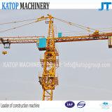 Heißer Verkaufs-Doppeltes Gtyration 6t Turmkran für Aufbau-Maschinerie