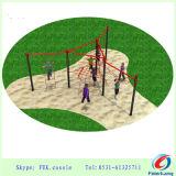 Equipo al aire libre del parque de atracciones de la gimnasia del patio de la aptitud