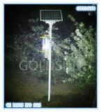 Lámpara solar del asesino del insecto de la agricultura en la granja, jardín, huerta, bosque