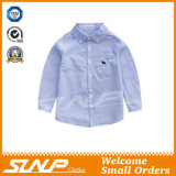 Hülsen-Schuluniform-Baumwollhemd des Jungen langes