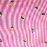 Поплин рейона поставкы фабрики напечатал ткань для платья девушок