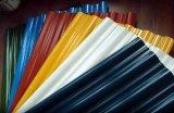Gi runzelte Stahlplatte, glasig-glänzendes Dach-Blatt